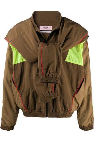 MARTINE ROSE Bundy - Printworks track jacket