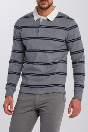 GANT Polokošile D1. Double Stripe Heavy Rugger