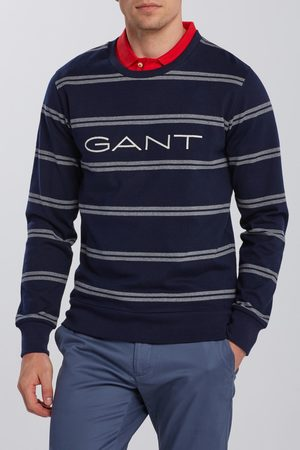 GANT Mikina D1. Double Stripe C-Neck