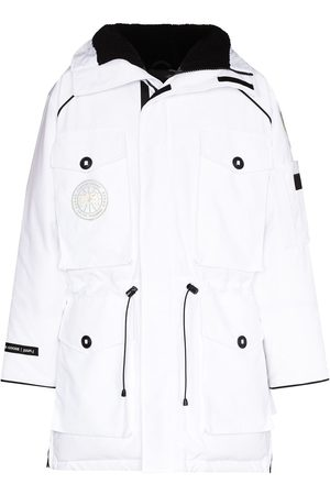 Canada Goose Logo patch hooded parka