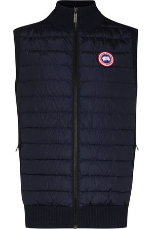 Canada Goose Multi-fabric panel padded gilet
