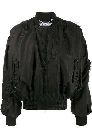OFF-WHITE Pascal-print bomber jacket