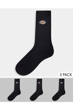 adidas Muži Ponožky - Valley Grove embroidered 3-pack sock in black