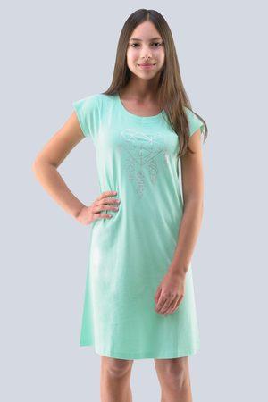 Gina Dívčí noční košile Hearts peprmintová