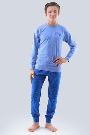 Gina Chlapecké pyžamo Atlantic světle modré