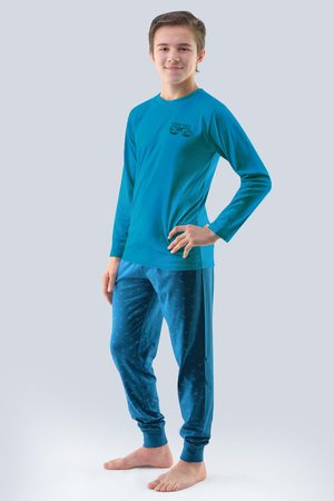 Gina Chlapecké pyžamo Atlantic petrolejové
