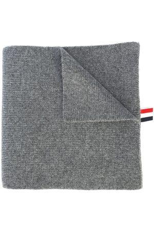 Thom Browne Muži Šály a šátky - 4-Bar Stripe Cashmere Rib Scarf