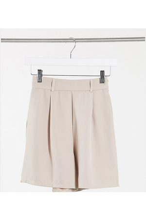 NaaNaa Bermuda suit shorts in beige
