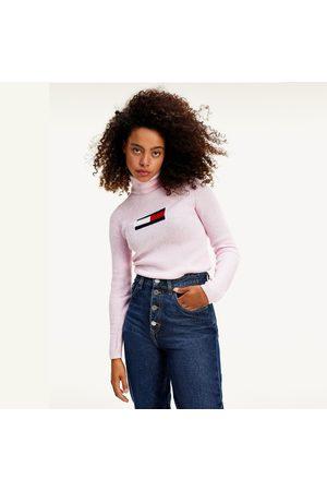 Tommy Jeans dámský růžový rolák