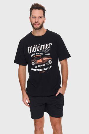 Doctor Nap Černé pyžamo Oldtimer