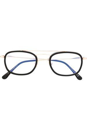 Tom Ford Blue Block square frame glasses