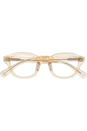 Lesca Transparent square frame glasses