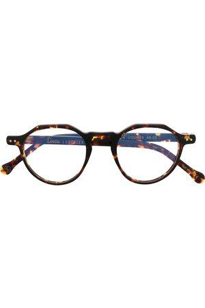 LESCA Round frame glasses