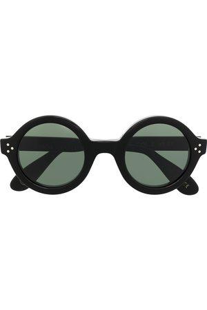 LESCA Phil round frame sunglasses