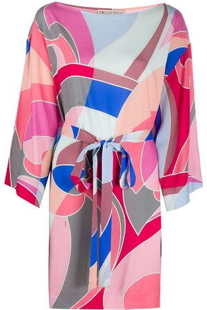 Emilio Pucci Abstract-print coverup
