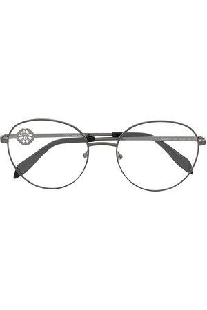 Alexander McQueen Round frame glasses