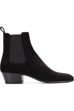 Saint Laurent Slim suede boots