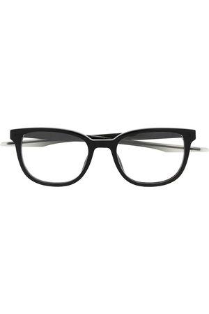 PUMA Black square-frame glasses