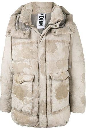 DROME Camouflage padded jacket