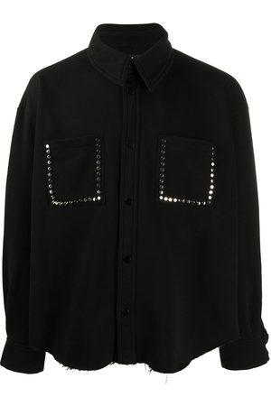 DUOltd Embellished oversized shirt