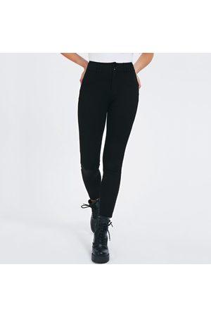 Guess Ženy Kalhoty - Dámské černé kalhoty