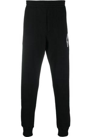 Alexander McQueen Logo patch track pants