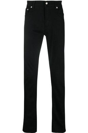 Alexander McQueen Logo patch slim-fit jeans