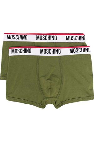 Moschino Logo waistband boxer set