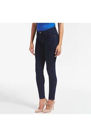 Guess Ženy Kalhoty - Dámské tmavě modré džíny