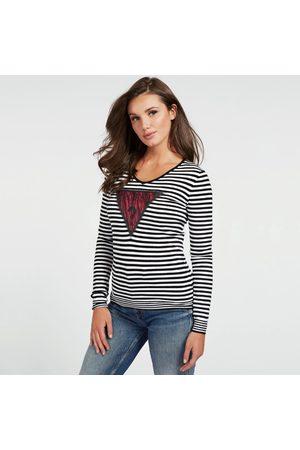 Guess Ženy Svetry - Dámský pruhovaný svetr