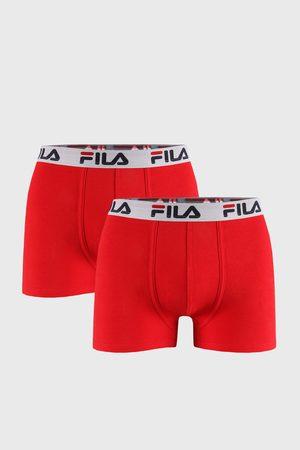 Fila 2 PACK červených boxerek