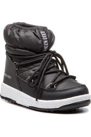 Moon Boot Sněhule - Jr Girl Low Nylon Wp 34051800001 Black