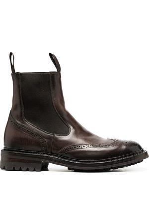 Officine creative Brogue Chelsea boots
