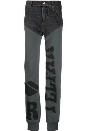 TELFAR Multi-fabric panelled jeans