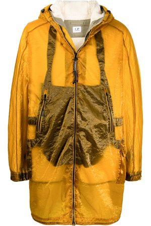 C.P. Company Metallic-effect parka coat