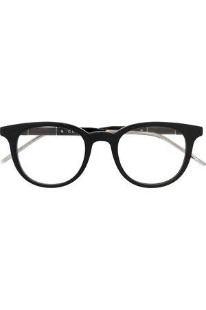 Gucci Round-frame logo glasses