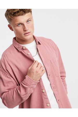 ASOS 90s oversized shirt in dusty pink