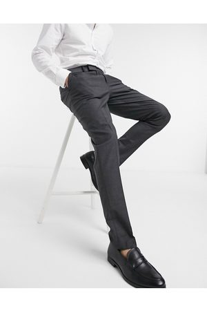 ASOS Skinny smart trousers in charcoal-Grey