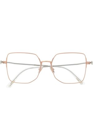 Jimmy Choo Oversized frame glasses