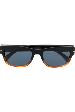 Eyewear by David Beckham Two-tone square-frame sunglasses