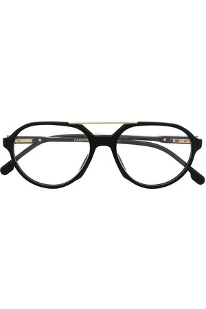 Carrera Polished aviator-frame glasses