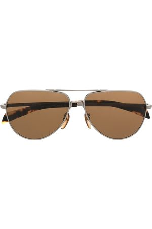 Eyewear by David Beckham Aviator-frame sunglasses