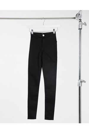 Glamorous High waisted slim fit jeans in black
