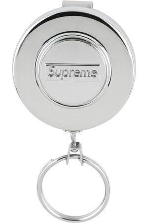 Supreme Retractable logo keychain