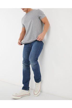 Levi's Muži Skinny - Levi's 510 skinny fit Moose Tracks jeans in mid wash-Blue
