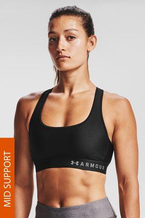 Under Armour Ženy Sportovní - Černá sportovní podprsenka Crossback