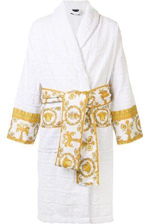 VERSACE Barocco trim bathrobe