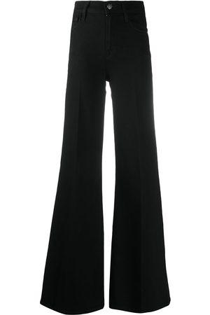 Frame High-waisted flared jeans