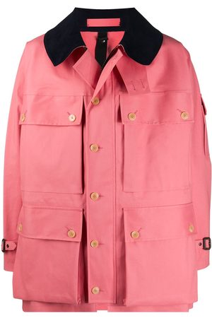 MACKINTOSH Contrast-collar lightweight jacket