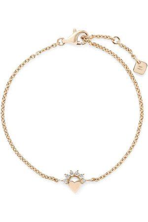 NOUVEL HERITAGE Ženy Náramky - 18kt yellow gold Mystic Love diamond bracelet